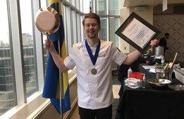 Guld i Toronto: Svensk kock vann Copper Skillet