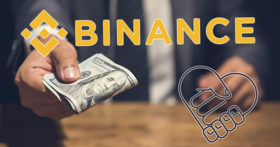Binance donates all listing fees to charity.