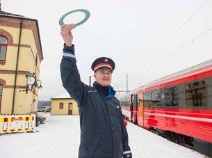 Trafikkstyreren på Hønefoss