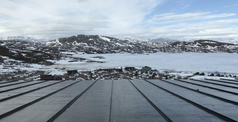 Allt fler skidanläggningar utvecklar vintercamping. Här i Riksgränsen.  Foto: Besöksliv