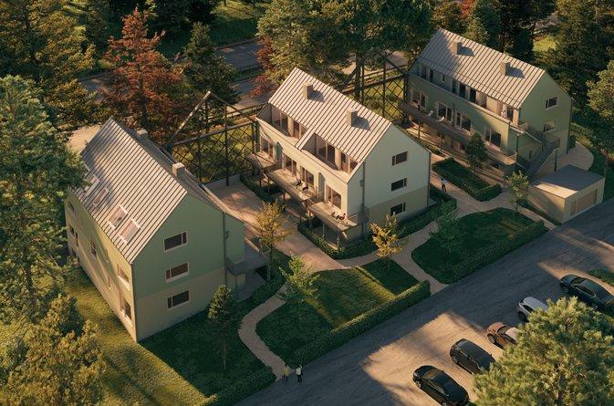 Åke Sundvall bygger åt Malmegårds Fastigheter