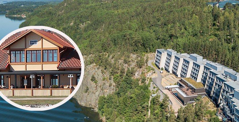 Kolmården och Restaurang Sjöstugan kan få fler och nya<br />  besökare via den planerade båtlinjen. Foto: Kolmården, Sjöstugan