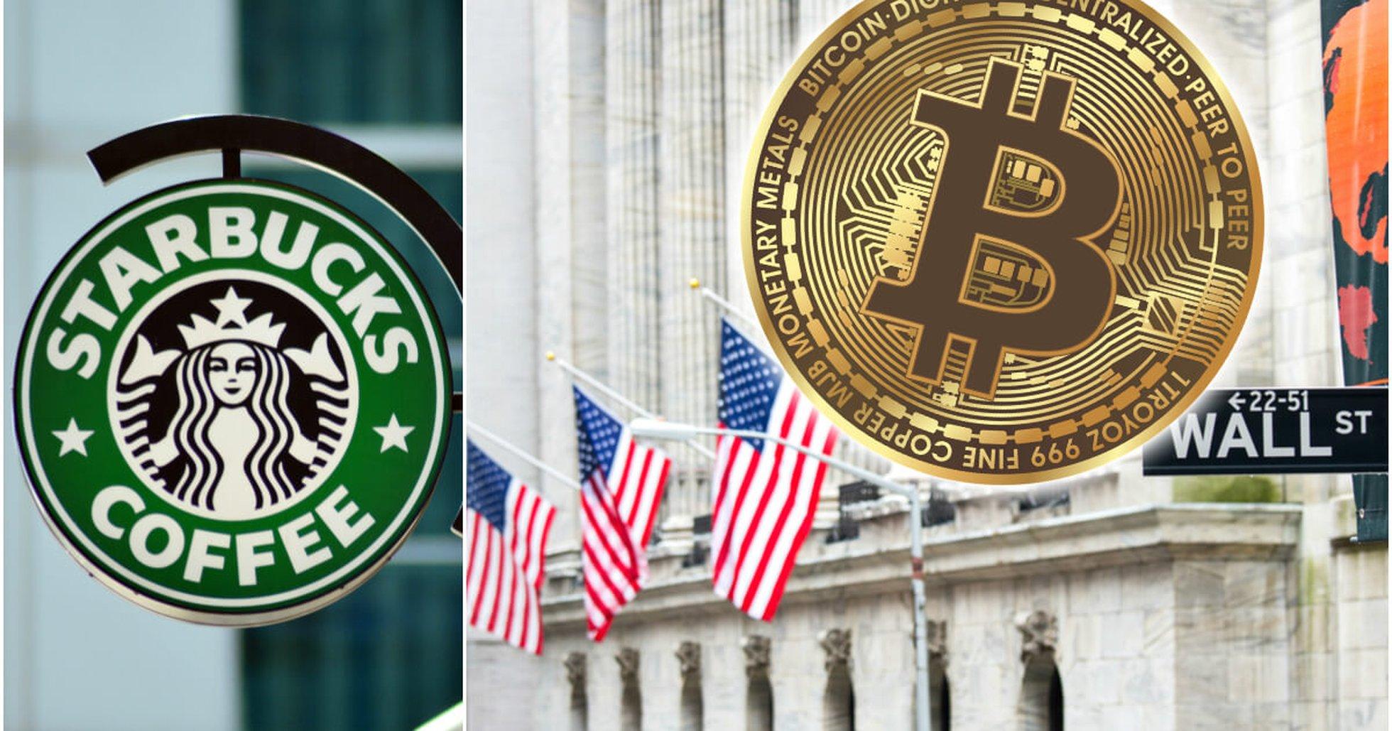 Världens största börsoperatör planerar stor kryptosatsning – med Microsoft och Starbucks.
