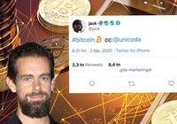Twitter har lagt till en bitcoin-emoji – nu lobbar vd:n för att andra plattformar ska följa efter