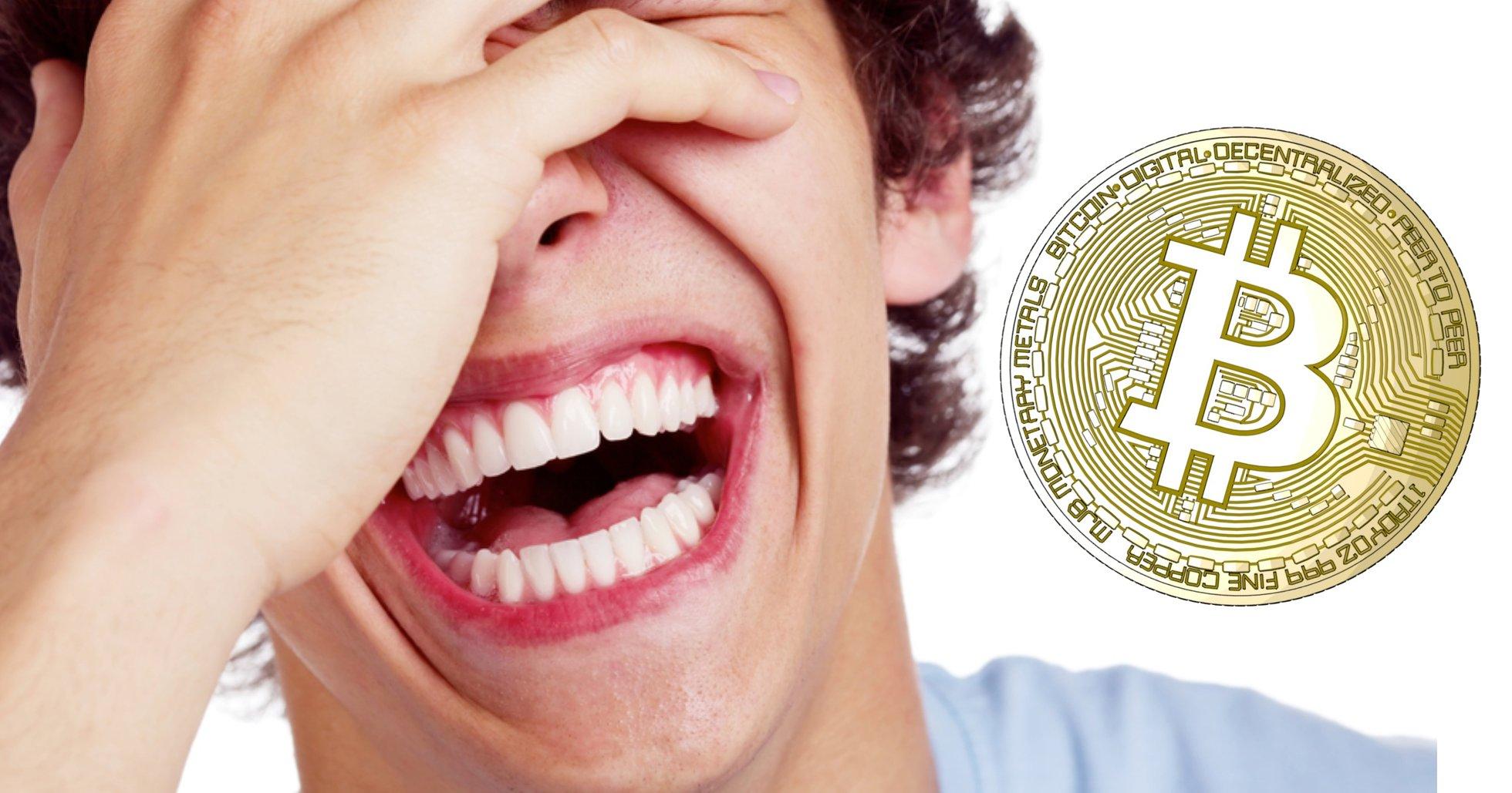 10 riktigt bra (dåliga) skämt om bitcoin.