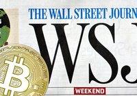 Nu sätter Wall Street Journal bitcoin på sin förstasida