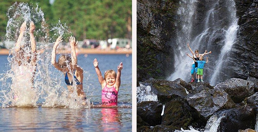 Bad, vandring och sommarliftar öppnar Vemdalen<br />  och Grönklitt i sommar. Foto: Grönklittsgruppen, Destination Vemdalen