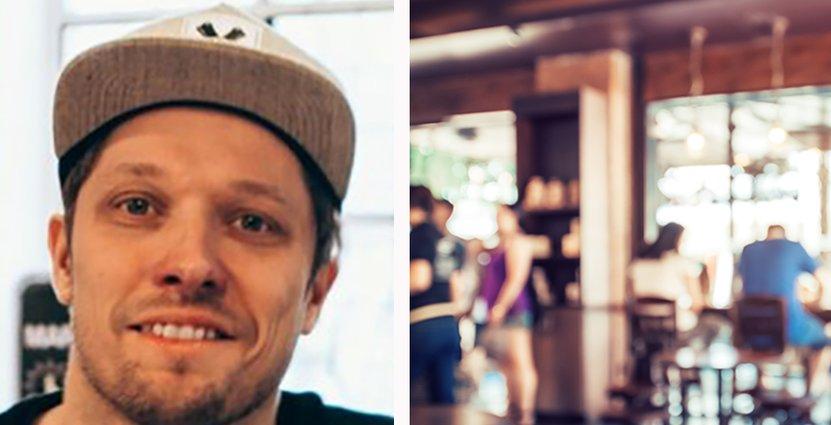 Simon Wanler, vd för Bastard Burgers menar att förbudet mot restauranger i gallerior slår hårt mot personalen.  Foto: Pressbild/Colorbox