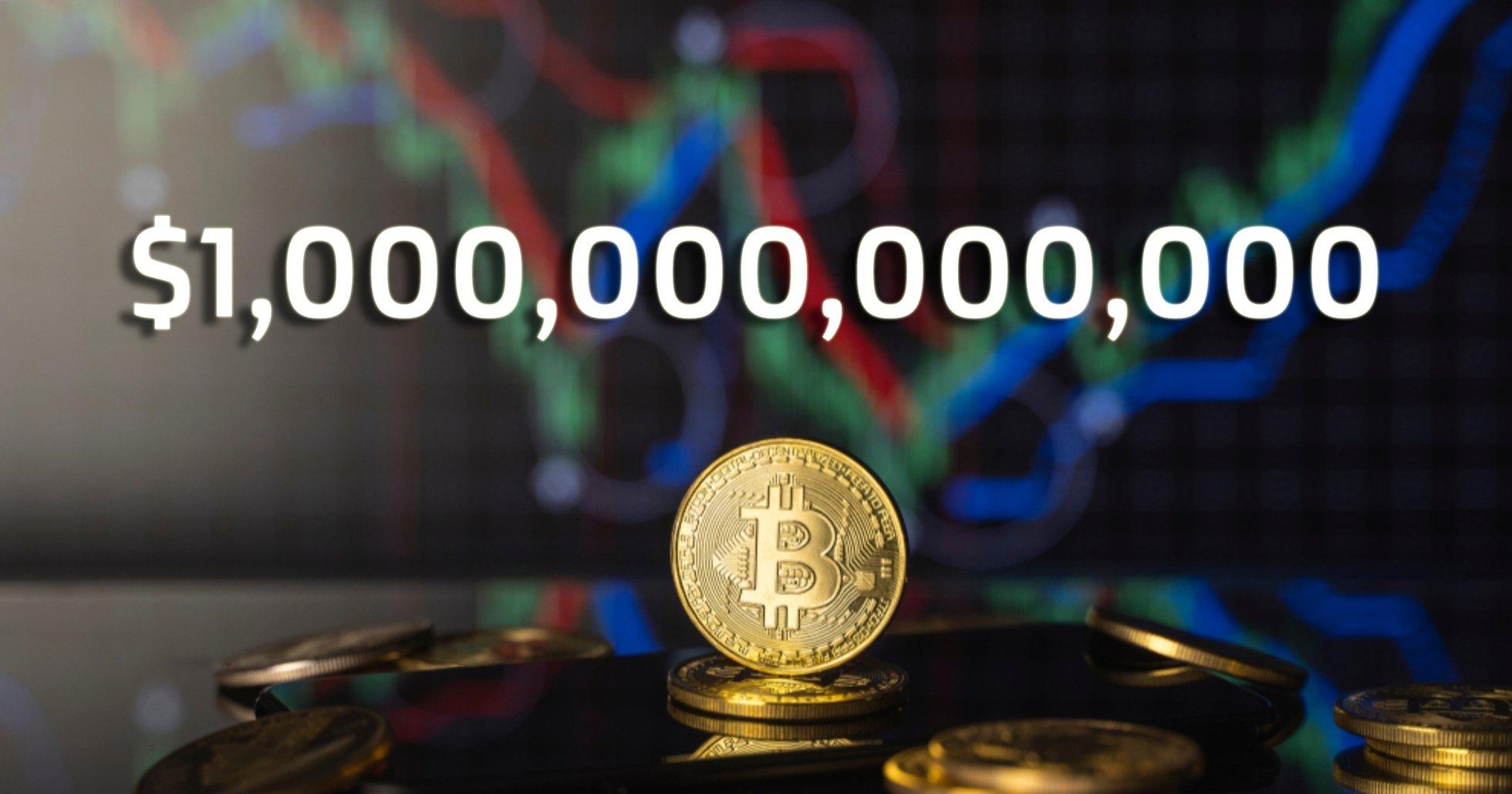 Bitcoin slår ännu ett prisrekord – värderas till över en biljon dollar
