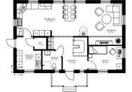 Se planritning för Villa Myckelby