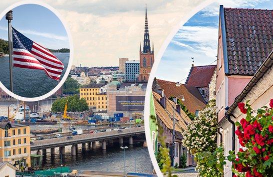 Fler utländska besökare till Sverige 2018