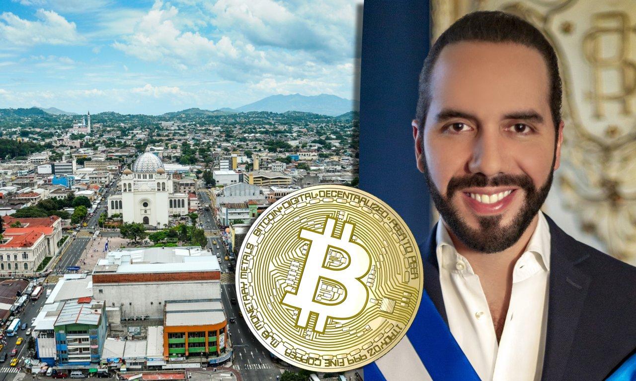 El Salvadors president vill göra bitcoin till officiellt betalmedel