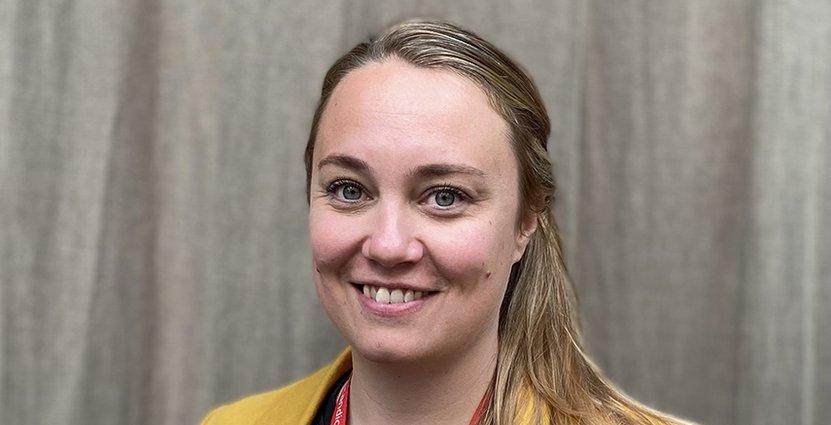 Elin Burström har axlat rollen som hotelldirektör för Scandic Skellefteå. Foto: Pressbild
