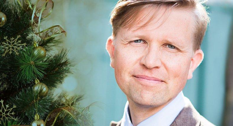 David Stiernholm, Sveriges ende struktör, hjälper dig behålla lugnet i julruschen.
