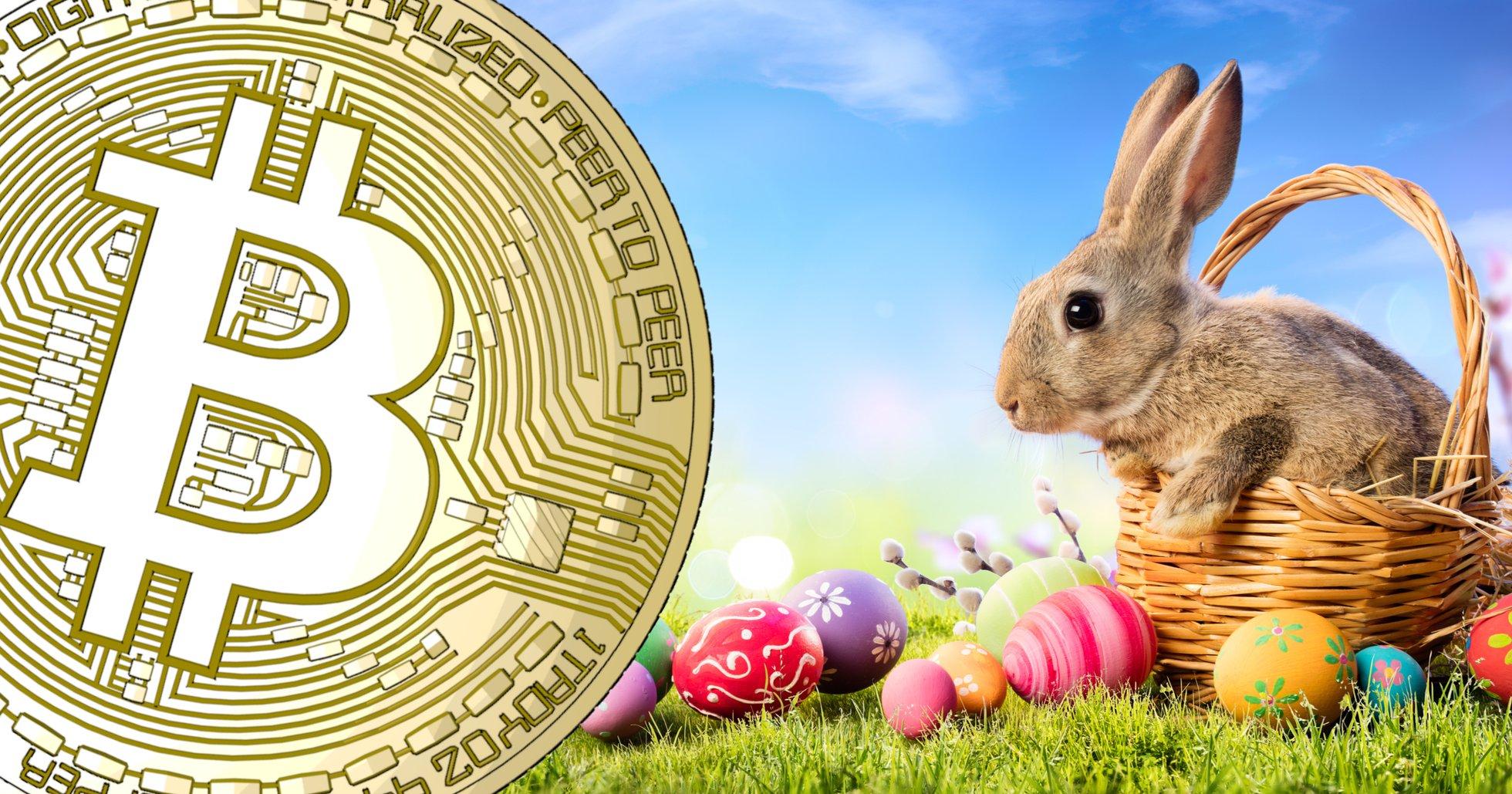 Bitcoinpriset fortsatt volatilt under påsken – ner 9 procent sedan i går kväll.