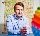 Just nu är Ted Valentins stora projekt att bygga lokala söktjänster för den internationella marknaden.