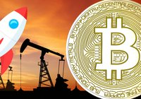The price of bitcoin has gained 37 percent this year – only the US oil gained more