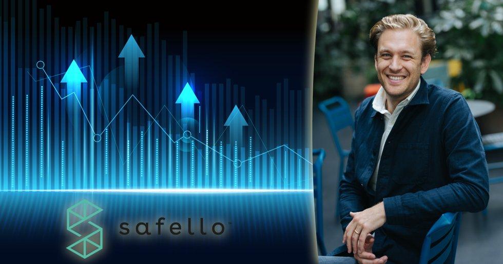 Kryptoväxlaren Safello rusar i börspremiären – aktien stiger med 192 procent