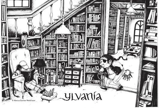 Ylvania – färglägg