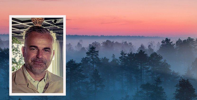 Jacob Dahlberg började sin bana inom besöksnäringen 1989, på Reso hotels. Foto: Frösö Park Hotel
