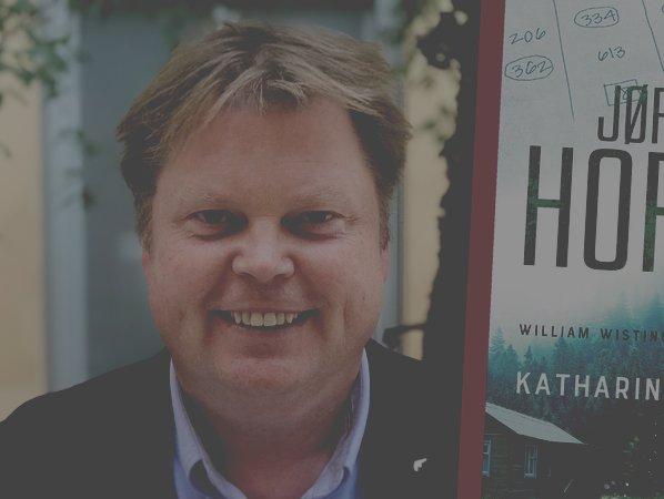 """Norske succéförfattaren Jørn Lier Horst: """"Jag ville bli som Kurt Wallander"""""""