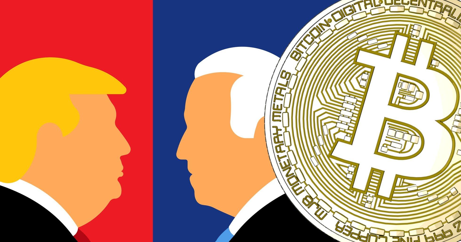 Så har det amerikanska valet påverkat bitcoinpriset