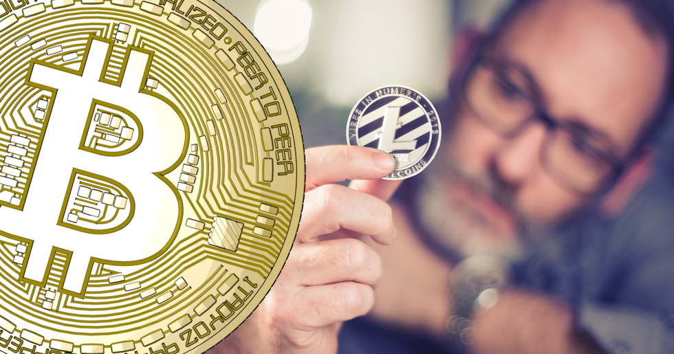 Litecoin soars the most on increasing crypto markets.