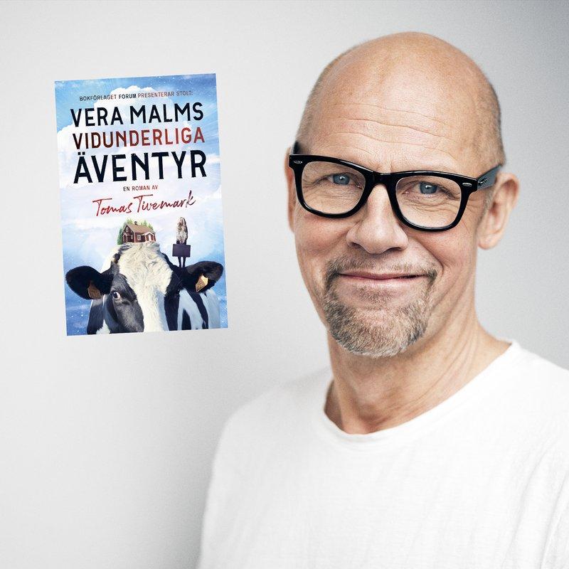 Vera Malms vidunderliga äventyr — en härlig saga för vuxna