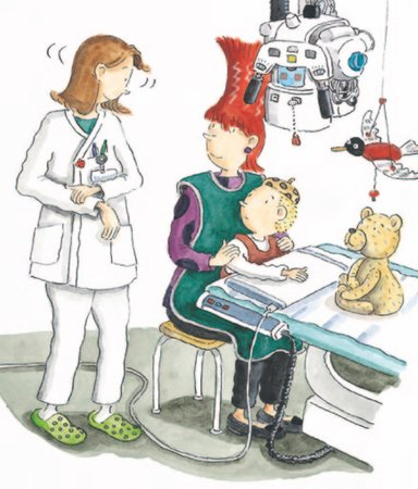 Nervöst eller spännande? 10 böcker om barn på sjukhus