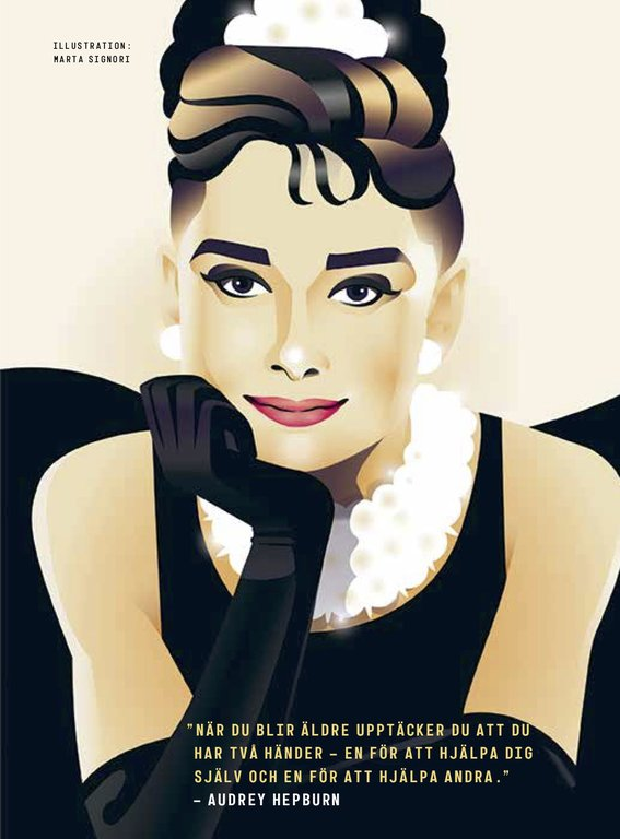 Därför är Audrey Hepburn en rebelltjej