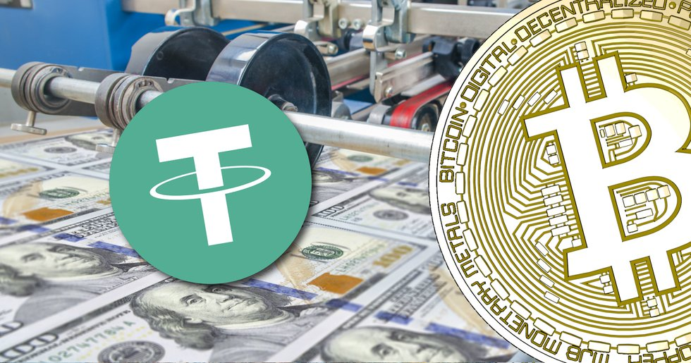 Tether continues to print more money