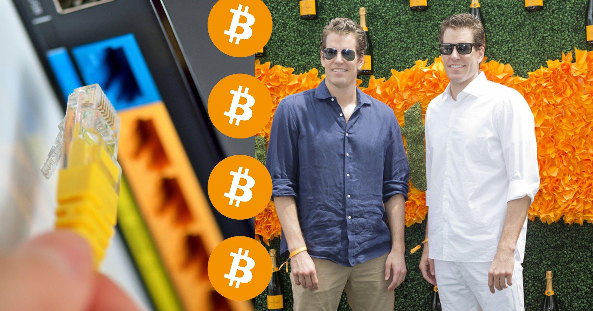 Winklevoss-tvillingarna: För att stoppa bitcoin måste hela internet stängas ner