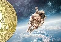 Bitcoinkursen svävar kring 10 000 dollar –