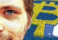 Robert driver Sveriges största bitcoingrupp på Facebook: