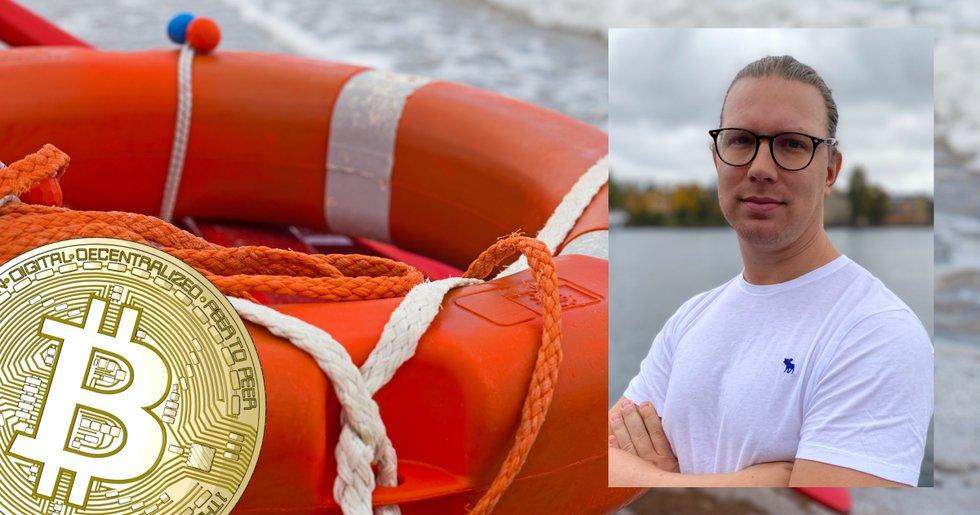 Martin Byström: När hela havet stormar är bitcoin din bästa livbåt.