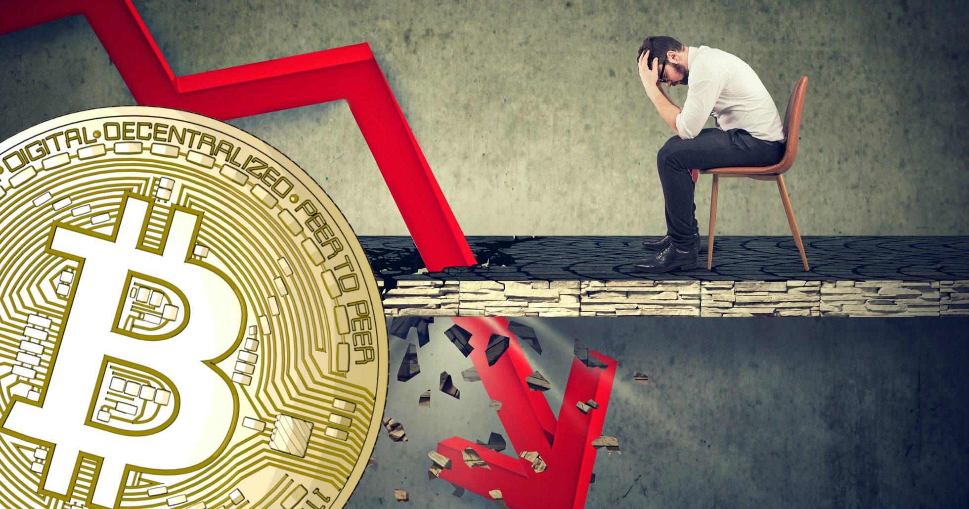Bitcoinpriset fortsätter sjunka – är ner nästan 18 procent den här veckan.