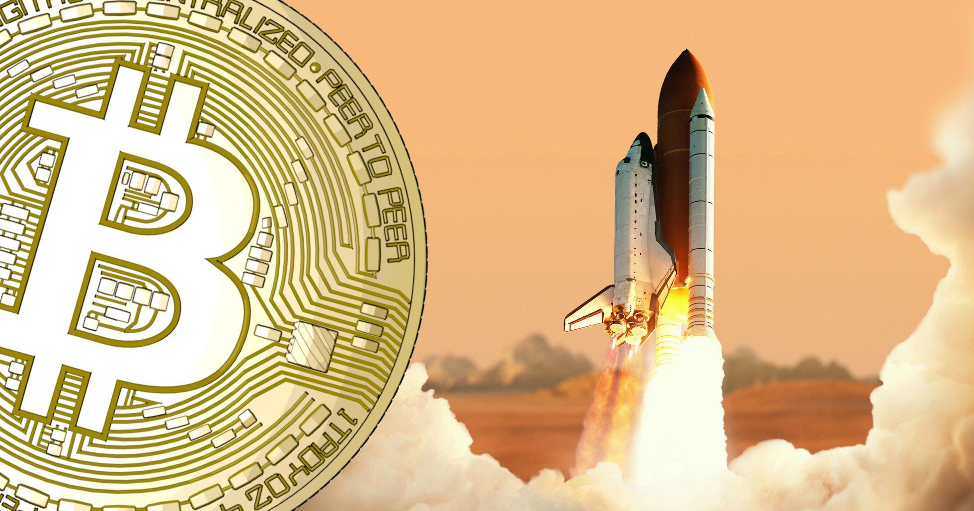 Bitcoin gör ett ryck – priset ökar med över 300 dollar på en halvtimme.