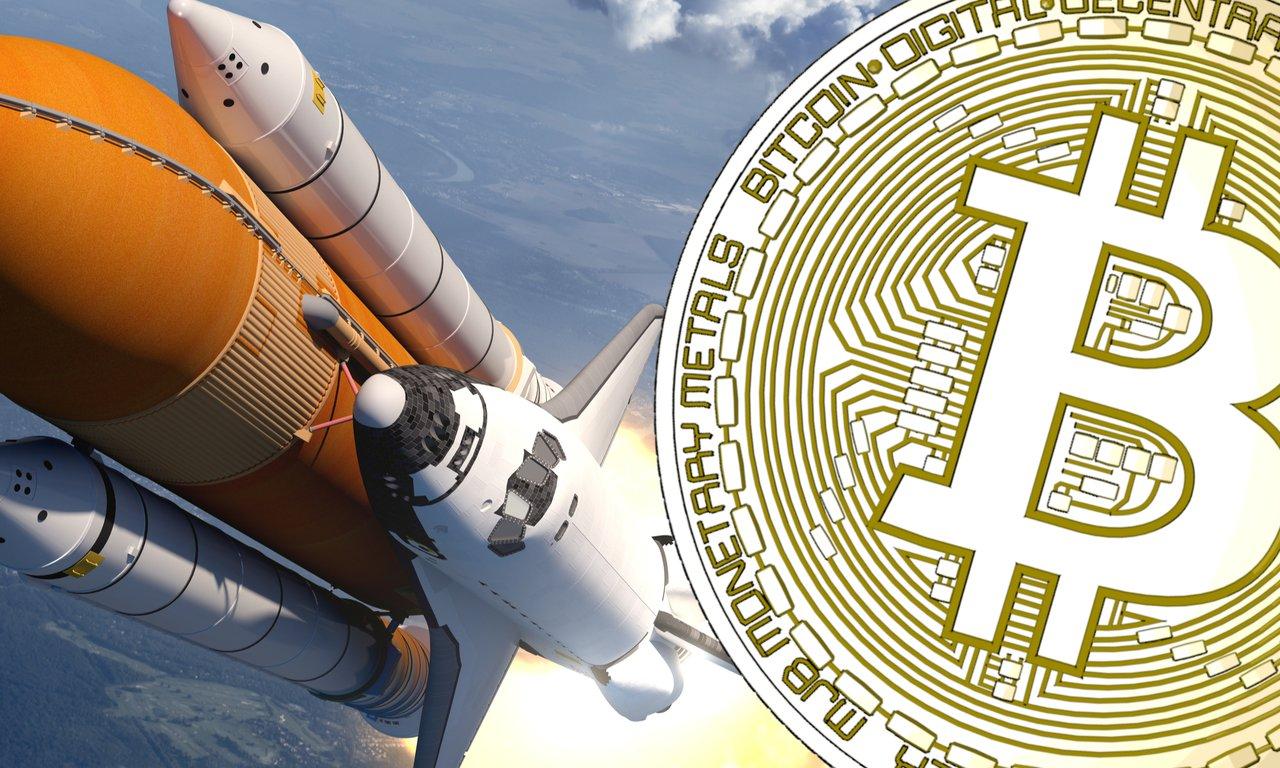 Bitcoinpriset rusar över 30 000 dollar.
