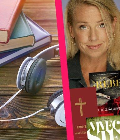 Här är ljudböckerna med Sveriges mest lyssnade röst