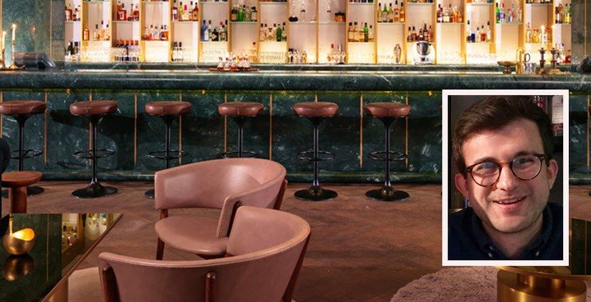Dandelyan i lyxhotellet Mondrian i London har utsetts till världens bästa bar. Foto: Dandelyan