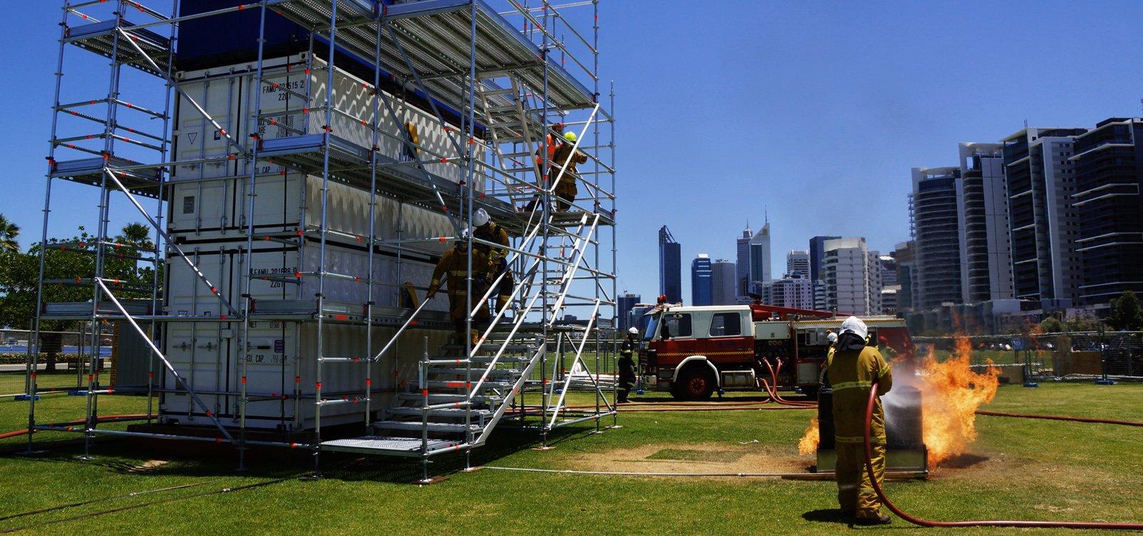 Соревнование аварийно-спасательных служб горнодобывающей отрасли (MERC) ежегодно проводится в городе Перт, Австралия.