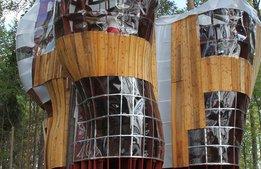 Nya trädhus-hotellet i vildmarken ska förlänga säsongen