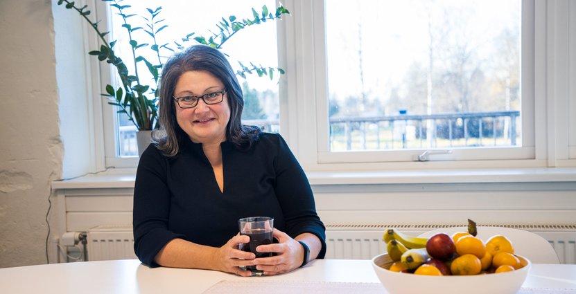 Grönklittgruppens vd och koncernchef Mari Tara.