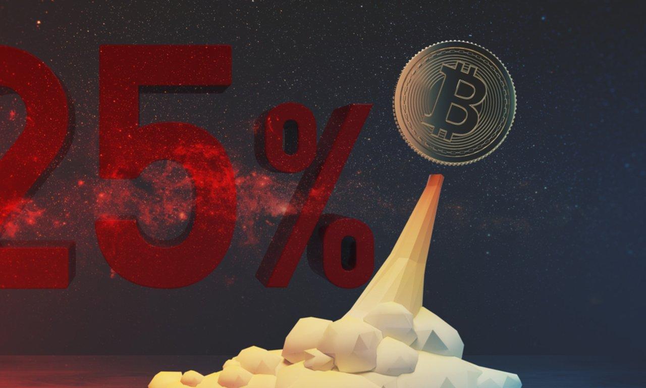 Bitcoinpriset når ny rekordnivå – har ökat med 25 procent den senaste veckan