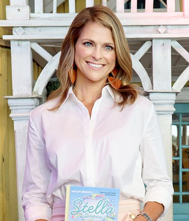 "Princess Madeleine of Sweden about her children's book:  ""It's about encouraging children to stand up for themselves"""