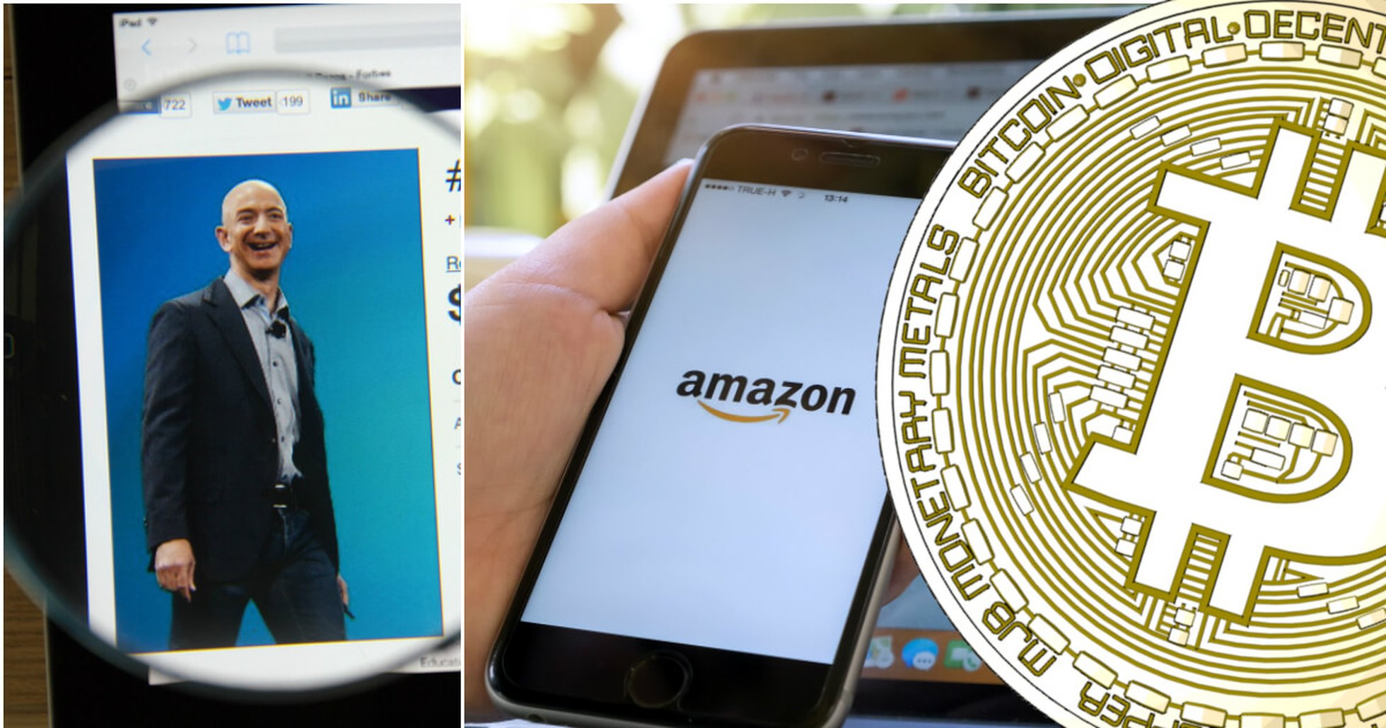 Is Amazon about to accept cryptocurrencies as payment? Here's all we know.