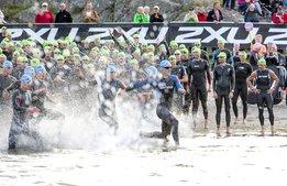 Triathlon kopplas till konst på Tjörn