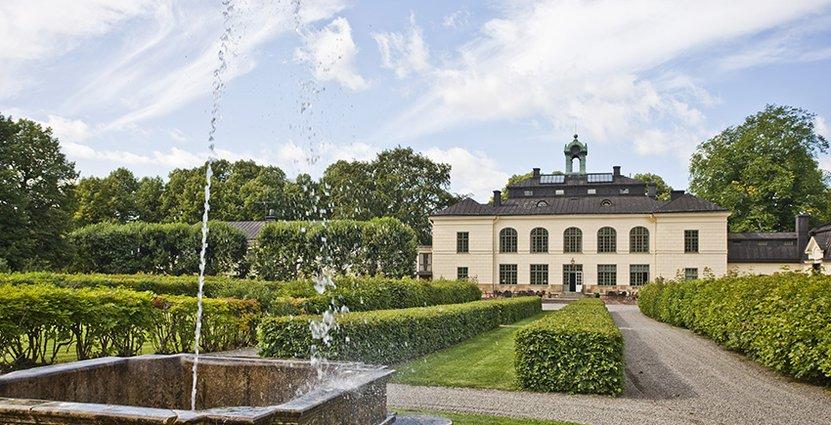 Näsby Slott går snart in i etapp två av sin stora renovering.  Foto: Näsby Slott