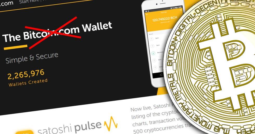 Coinmarketcap removes Bitcoin.com from their bitcoin page.