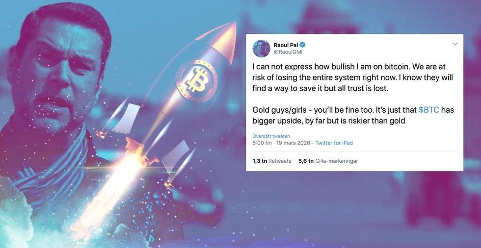 Finansprofilen efter att bitcoinprisets rusning: